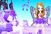 Thumbnail for Purple Butterfly Dress up