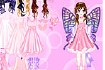 Thumbnail for Pink Butterfly Dress up