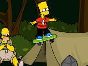Thumbnail of Bart Skateboarding