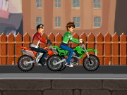Thumbnail of Ben10 Bike Vs Rex