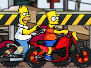 Thumbnail of Simpsons Family Race